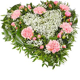 Букет из розовых гвоздик