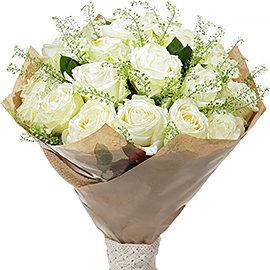 """Букет """"Элитные Белые Розы"""""""