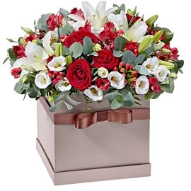 Букет из красных роз Гран-При