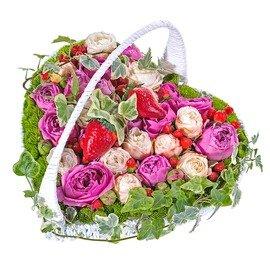 Букет из зеленых хризантем Сантини