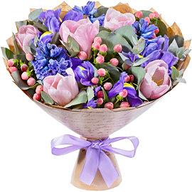 Салон цветов букеты букетов — photo 6
