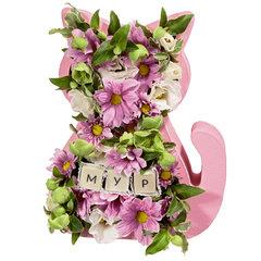 Цветочно-Шоколадный Котик