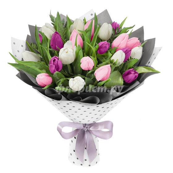 Тюльпаны Нежных Тонов