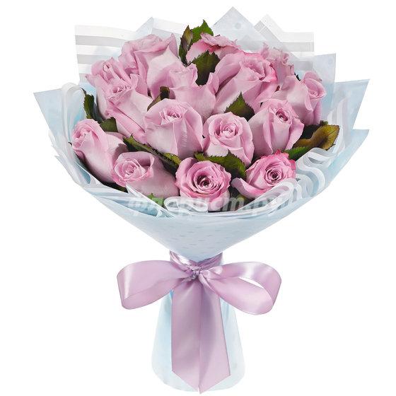 15 Лиловых Роз