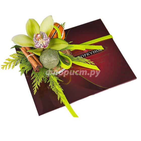 Шоколадная Орхидея