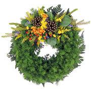 Зеленый Похоронный Венок