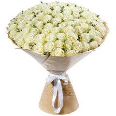 51 и 101 Элитная Белая Роза