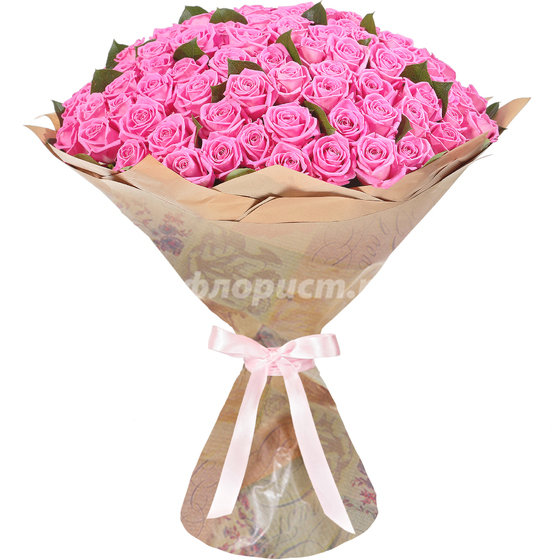 51 и 101 Розовая Роза