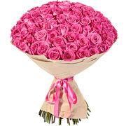51 и 101 Элитная Розовая Роза