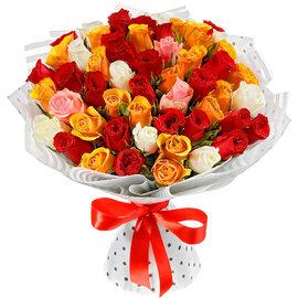 51 Красочная Роза