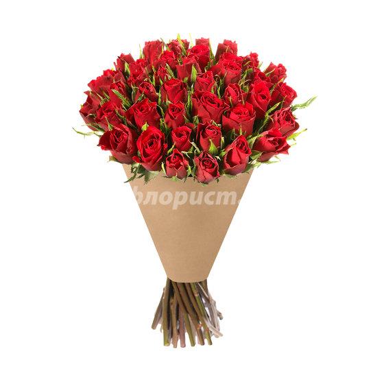 З5 Ярко-Красных Роз