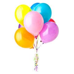 <h4>Шары</h4><br/> <p>Шары, наполненные гелием или воздухом, раскрасят настроение любимым и близким людям.</p>  <p>Обратите внимание, что при отрицательной температуре воздуха, гелиевые шары лопаются. Поэтому в некоторых населенных пунктах в определенное время года могут быть доставлены шары, наполненные воздухом, но с увеличением количества шаров.</p>