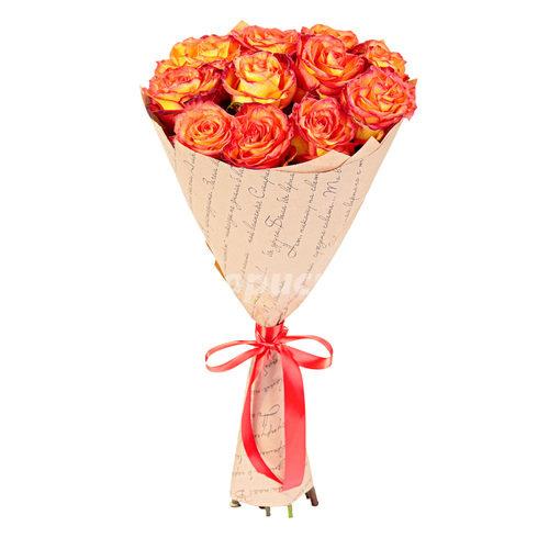 Элитные Двухцветные Розы