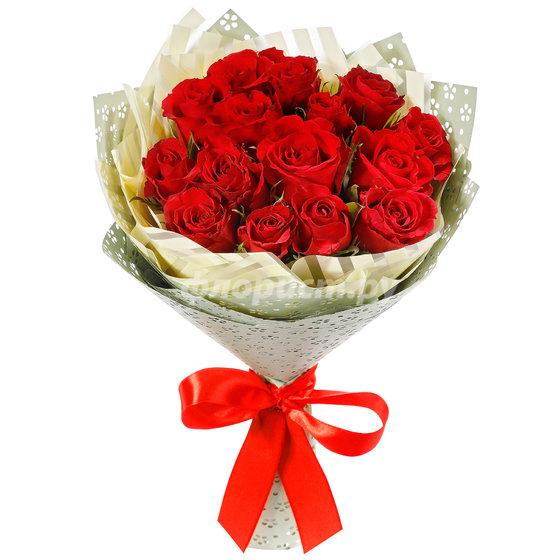 15 Рубиновых Роз