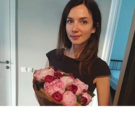 Голландские Малиново-Розовые Пионы