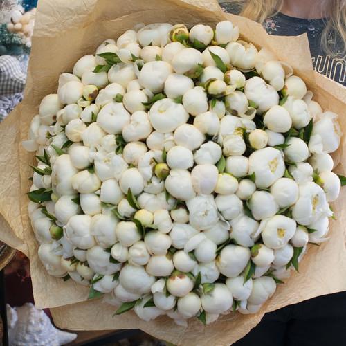 Букет цветов Дюшес