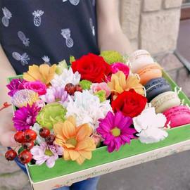 """Цветы и сладости """"Для любимой !"""""""