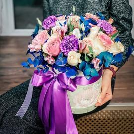 Цветы в коробке Барокко