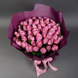 Роза маритим 50 см, 51 шт в крафте