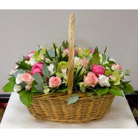 Корзина цветов Венский бал