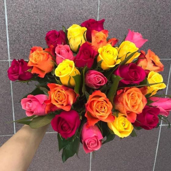 Букет из 25 роз Кении