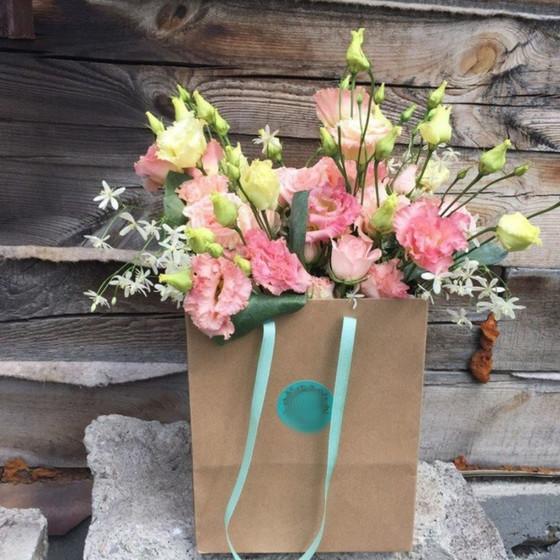 Сумка с цветами
