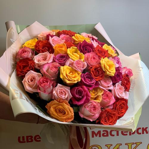 Яркий МИКС из 51 розы
