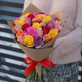 Букет из 35 роз «Кении» микс