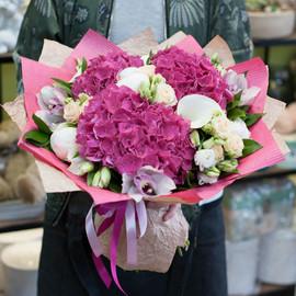 Букет цветов Pink Jazz