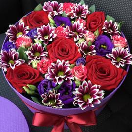 Цветы в коробке 518