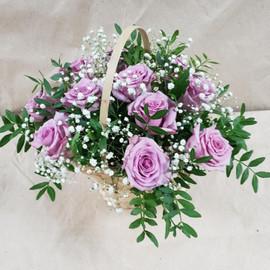 Корзина 11 роз
