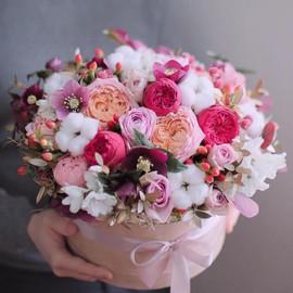 Цветы в коробке Воздушная