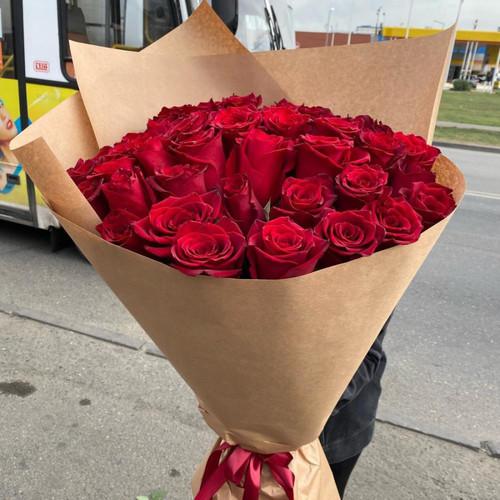 Букет роз «Дышу тобой»