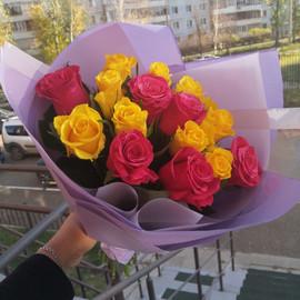 15 роз:)