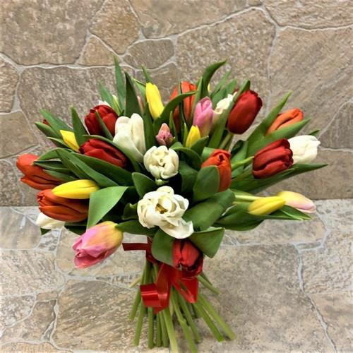 Тюльпаны 35 шт (БК - 20030)