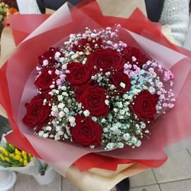 Букет «Алые Цветы»