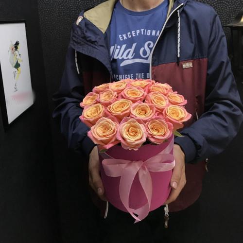 """Коробочка """"Розовый рассвет"""""""