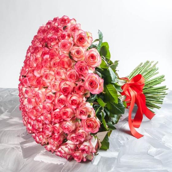 Роза Джумилия 50 см 101 шт.