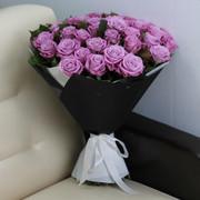 """Букет """"51 фиолетовая роза Маритим 60 см в упаковке"""""""
