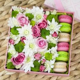 Коробка с печеньем Макарон