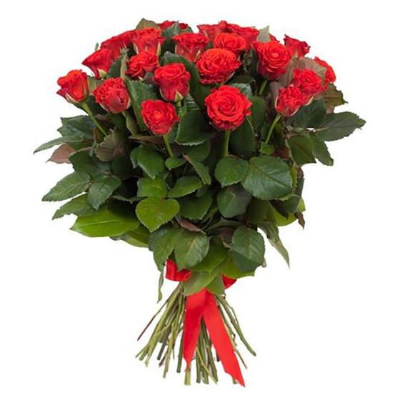 Роза Эль Торо 60 см 25 шт. в крафте