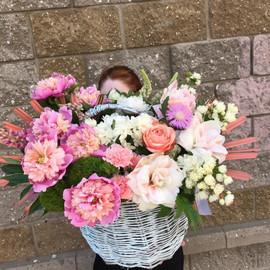 """Букет """"Цветы в корзине"""""""