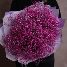 Букет из 11 розовых гипсофил