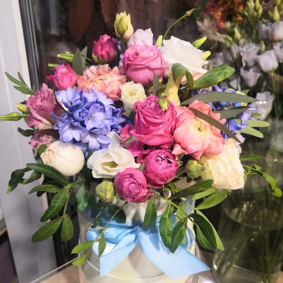 """коробочка с цветами  """"Весенний аромат"""""""