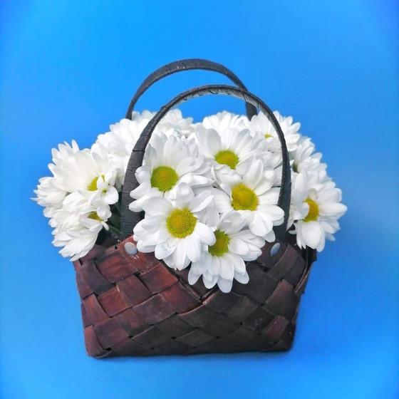 Ромашки в сумочке