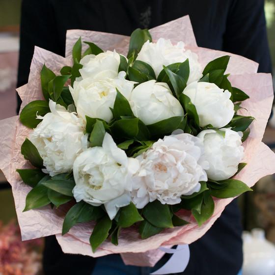 """Букет цветов """"Чудесные пионы"""""""