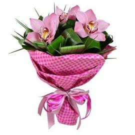 Букет-комплимент орхидея