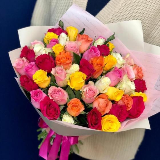 Букет из 51 розы «Кении»