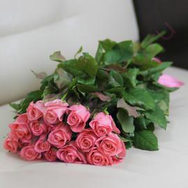 15 розовых роз Анна Карина 60 см