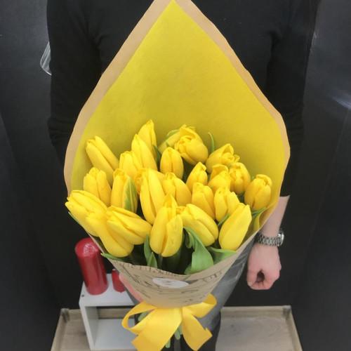 """Букет """"Желтые тюльпаны"""""""